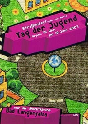 Flyer Tag der Jugend 2006 vorne