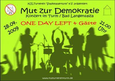 Mut zur Demokratie - 18.04.2009